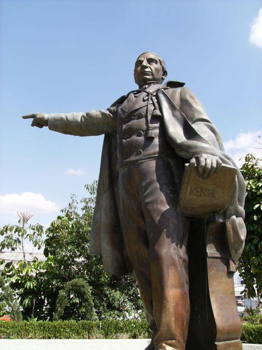 Monumento a Juárez en Naucalpan, Estado de México